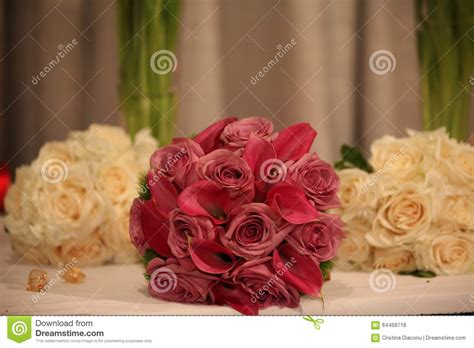 Bridal Florist by Wedding Bouquets Stock Photo Image 64458718