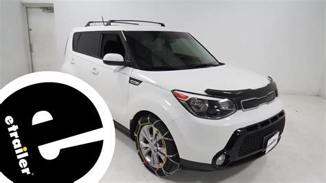 kia soul snow tires titan chain alloy snow tire chains review 2016