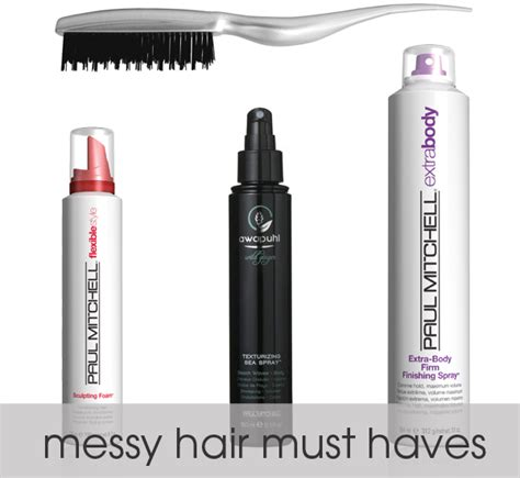 Messy Piecey Look Hair Products | messy piecey look hair products wedding hair the messy