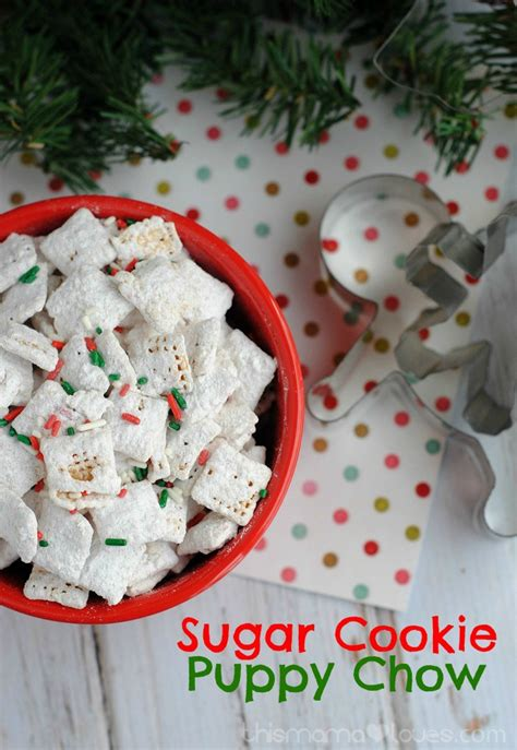 cookies and puppy chow sugar cookie puppy chow this