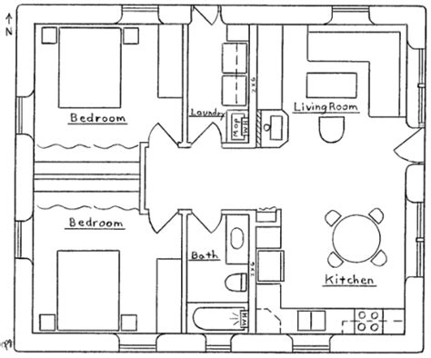 Small 2 Bedroom Cabin Plans by Small 2 Bedroom Cabin Plans Submited Images