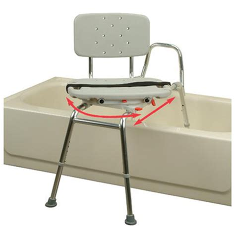 chair for bathtub sliding transfer bath bench and chair that swivels