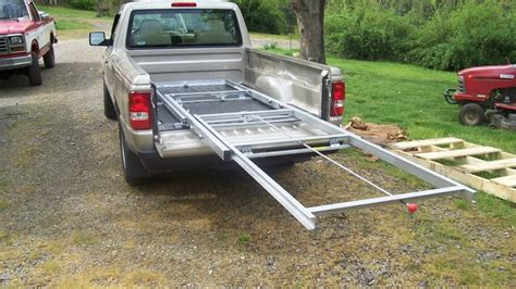 build your own truck bed slide out truck bed cargo slide slidemaster