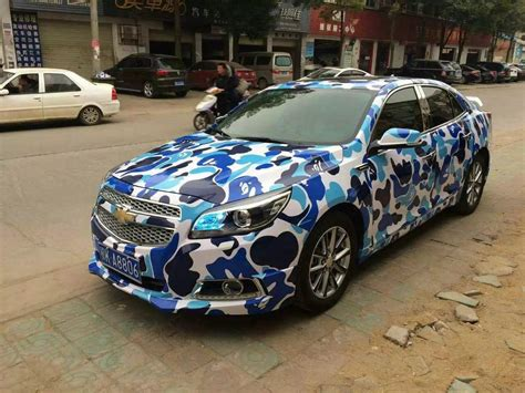 Stiker Camo Camouflage 138 2018 blue leopard camo vinyl car wrapping camouflage
