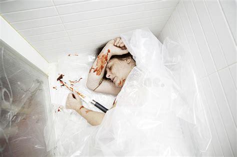 bathtub murders woman killed bathtub stock photo image 57864050