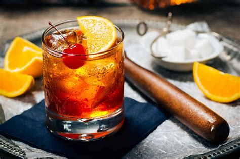 fashioned cocktail nightcap guide 5 drinks