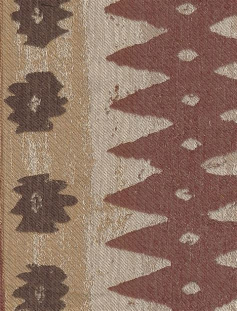 Western Upholstery by Brown Toned Southwestern Design Upholstery Fabric