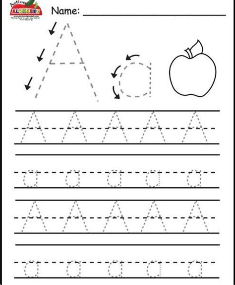 kindergarten activities on pinterest alphabet sheets for preschoolers kids coloring page