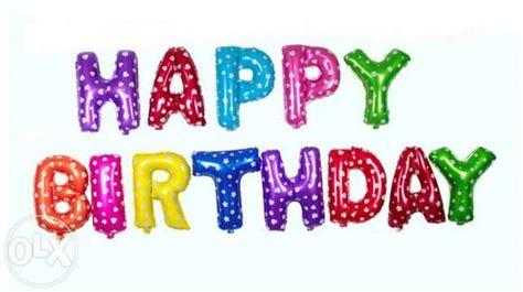 Jual Tulisan Happy Birthday by Balon Ulang Tahun Clipart Best