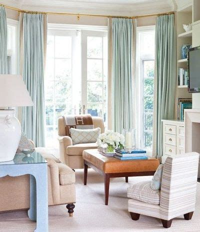 ceiling to floor curtains floor to ceiling watery blue drapes house home