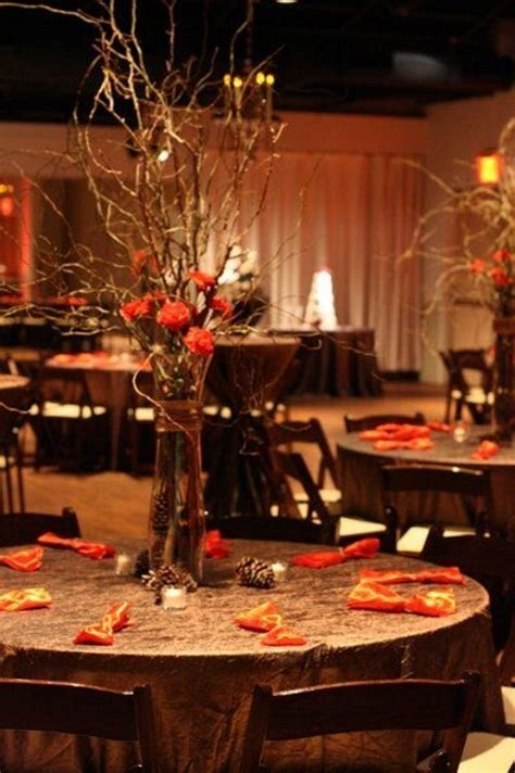 fall wedding reception decorations 45 fall wedding centerpieces that inspire happywedd