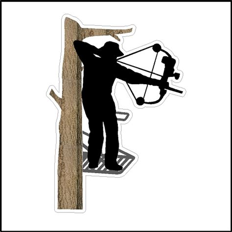 Bow Window Definition bow hunter in a tree stand available in two colors