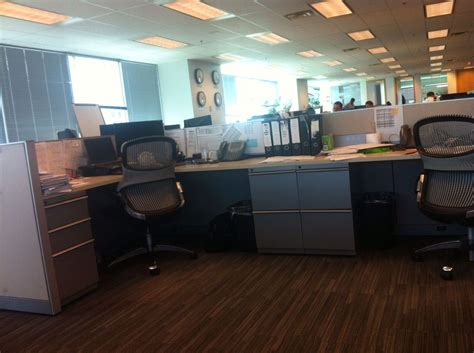 open office floor plan on one citco office photo