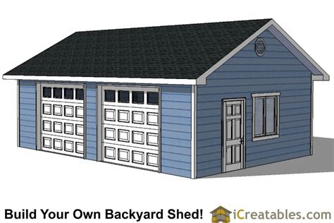build a two car garage diy 2 car garage plans 24x26 24x24 garage plans