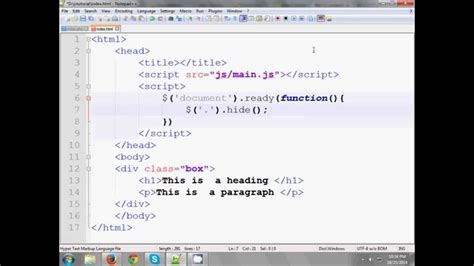 jquery tutorial in bangla jquery bangla tutorial 2 jquery selectors youtube