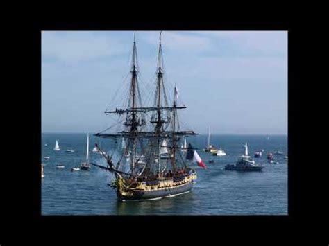 bateau hermione a port vendres l hermione 224 port vendres youtube
