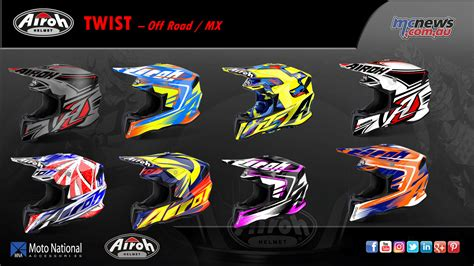 motocross helmets australia airoh helmets launches in australia mcnews com au