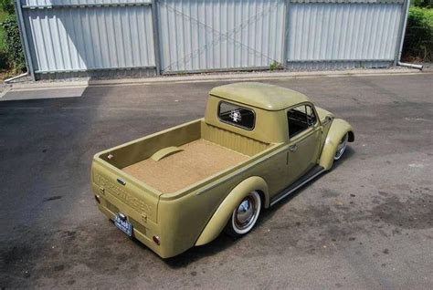 vw bug ute ute conversion vw trucks photos and