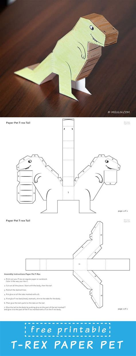 How To Make A Dinosaur Out Of Paper - best 25 paper puppets ideas on puppets