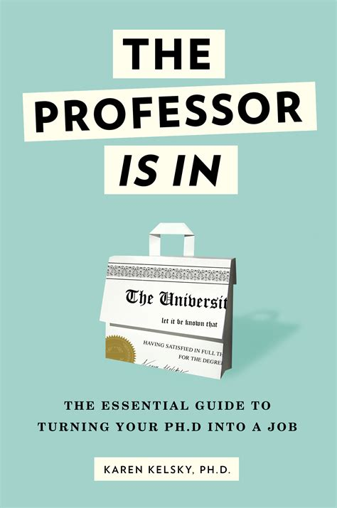 is the the book the professor is in