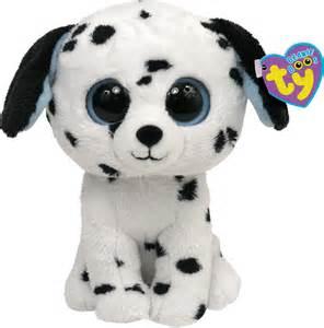 ty peluche beanie boo 180 glubschi dalmatien fetch 15 cm 360342