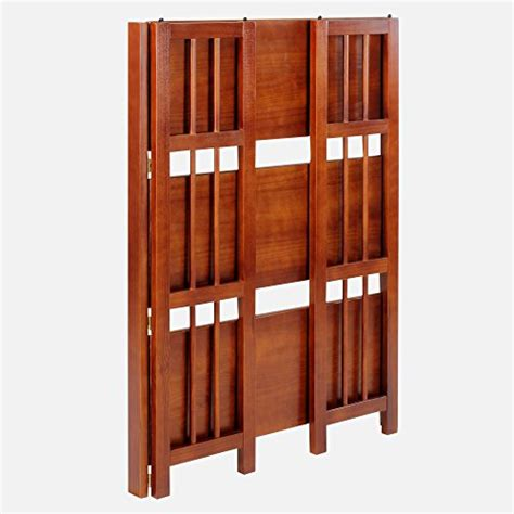 27 inch wide bookcase casual home 3 shelf folding stackable bookcase 27 5 quot wide