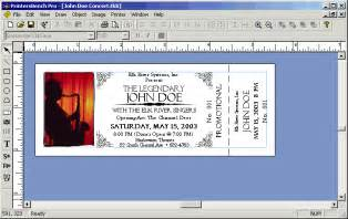 ticket designs templates free raffle ticket printing software rafflebench plus