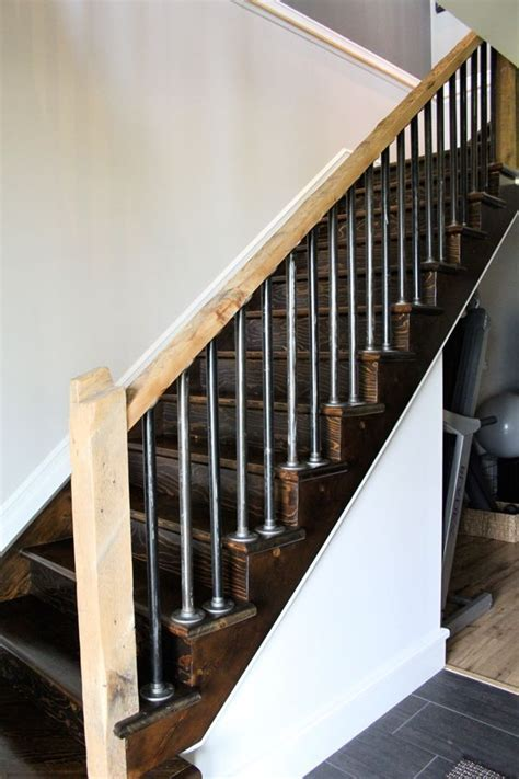 Stair Handrails B Q 1000 ideas about indoor stair railing on