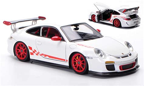 porsche 997 gt3 rs 2010 white frontiart diecast model car 1 43 buy sell diecast car on
