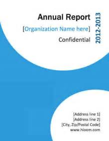 cover page for annual report template 7 report cover page templates for business documents