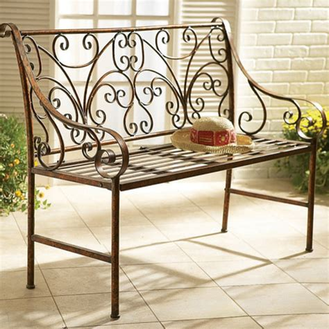 Iron Furniture Benches Garden Furniture Home Decoration Club