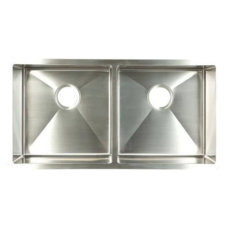 franke stainless steel sinks undermount shop franke usa frankeusa 18 in x 35 in satin rim bowls