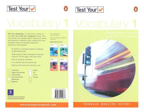 Test Your Vocabulary Watcyn 1 penguin test your vocabulary 1 elementary