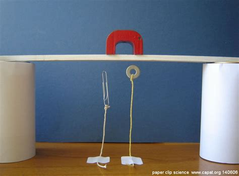 How To Make A Paper Clip Magnetic - quot magnetism paper clip experiments new fascinating