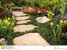 Garden Trail Stock Photography - Image: 2357402 House With Garden Clipart