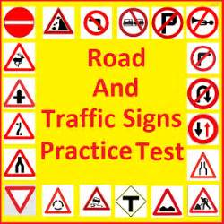 Road and traffic signs test android apps on google play