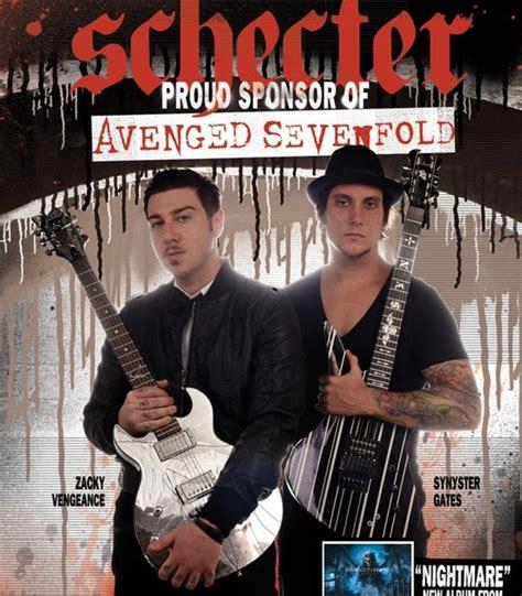 Gitar Synyster Gates Custom Pabrikan spesifikasi gitar synyster gates dan zacky vengeance
