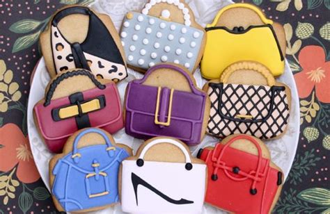Idea Designer Handbag Cookies By Elenis by 121 Best Fashion Images On