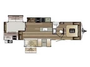 Cougar Travel Trailer Floor Plans 2016 Keystone Cougar Xlite 34tsb Floor Plan Travel Trailer