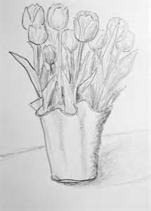 tulips drawing pencil skapat utanf 246 r kursatelj 233 n