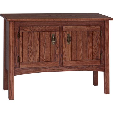 mission style sofa tables solid oak mission style sofa table 39 quot the oak