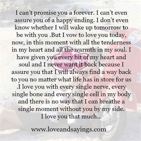 you promised forever and a day by clickk mee liked on polyvore i cant love you quotes quotesgram