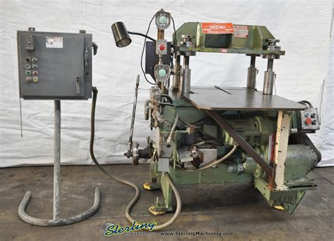 bench master used benchmaster high speed press sterling machinery