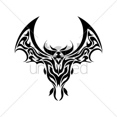 bat tattoo png bat tattoo design vector image 1435573 stockunlimited