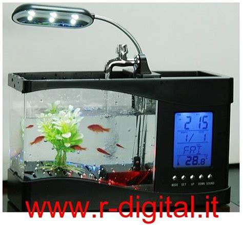 acquario da scrivania acquario mini usb 1 5lt da scrivania lada portapenne