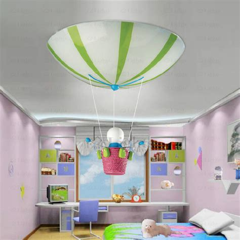 Cute Doll Pendant 3 Light Kids Bedroom Ceiling Lights Childrens Bedroom Light