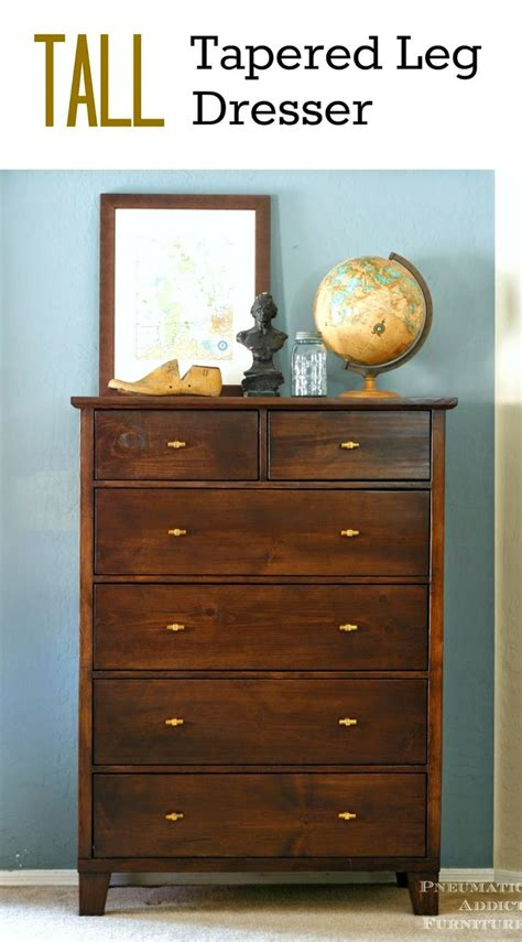 Build Your Own Dresser by Wood Dresser Plans Woodworking Projects Plans