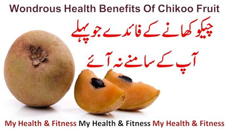 fruits ke fayde chiku khane ke fayde wondrous health benefits of chikoo