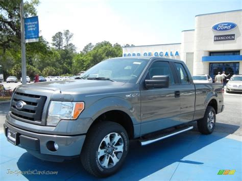 2012 ford stx 2012 ford f150 stx supercab in sterling gray metallic