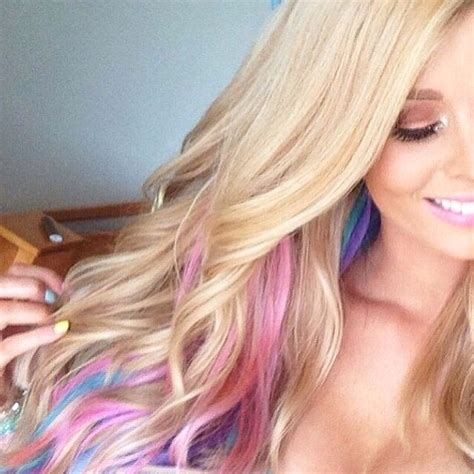 hair color highlighted with dark color underneath 58 best blue highlights images on pinterest cabello de